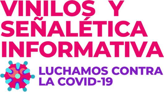 Vinilos y señalización informativa coronavirus en Alicante